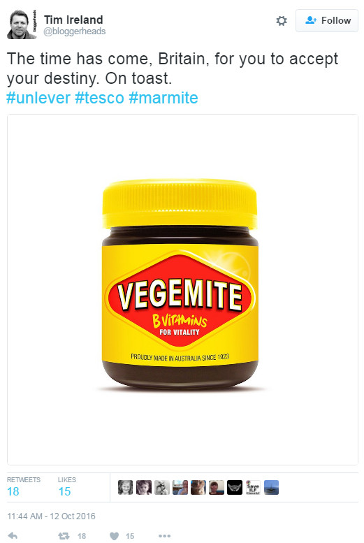 Memes poke fun at the Unilever-Tesco stand-off